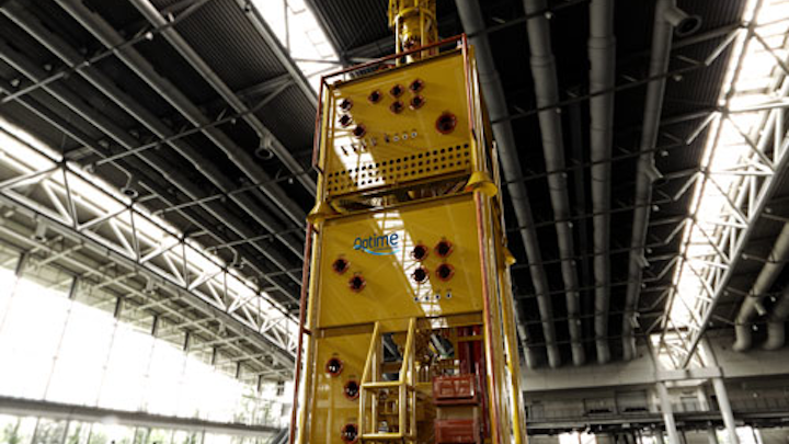 Optime Subsea Services plug and abandonment stack
