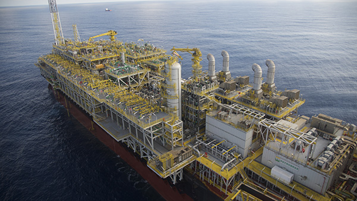 Petrobras oil and gas production
