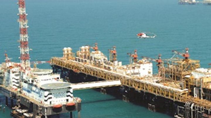 Zakum offshore the UAE