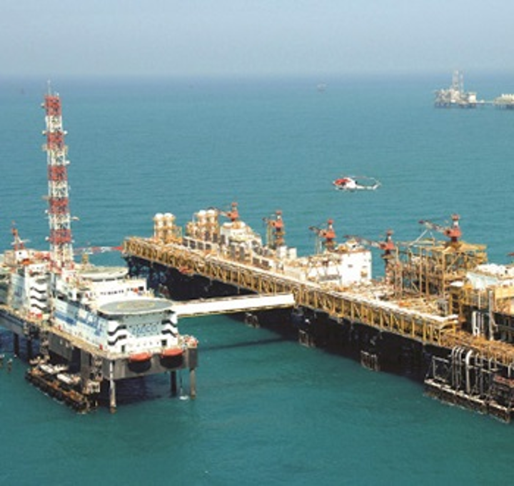 Zakum offshore the UAE