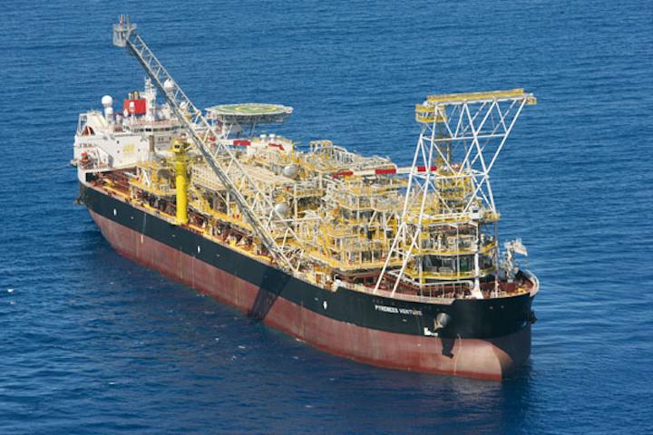 FPSO Pyrenees Venture offshore Western Australia