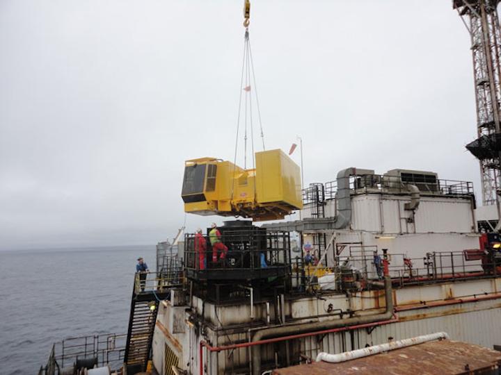 EnerMech crane maintenance