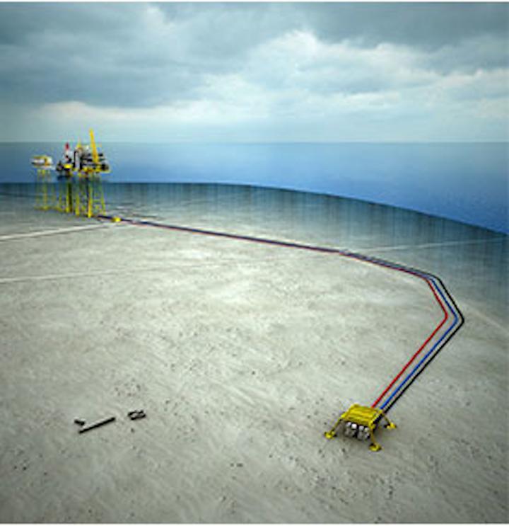 Oda field development offshore Norway