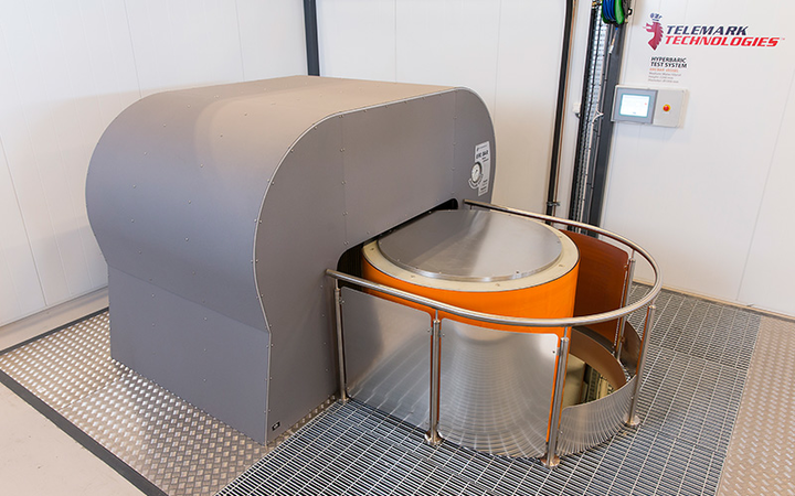 Optime Subsea Services' hyperbaric vessel