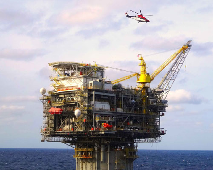 Lucius truss spar in the deepwater Gulf of Mexico