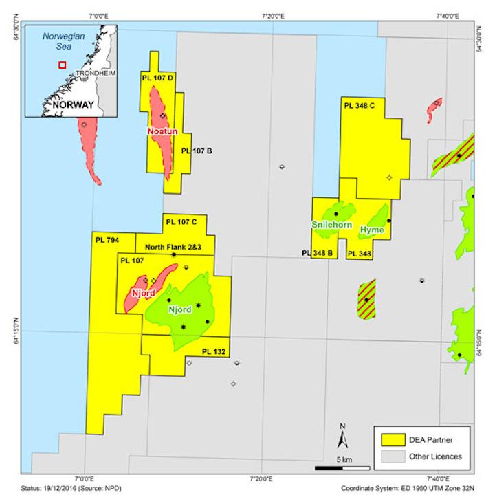 Offshore Norway licenses