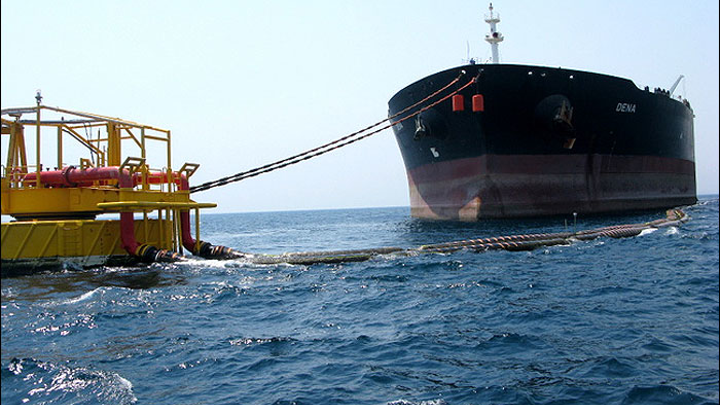 Iranian Oil Terminals Co. launches its fourth single buoy mooring in the Persian Gulf