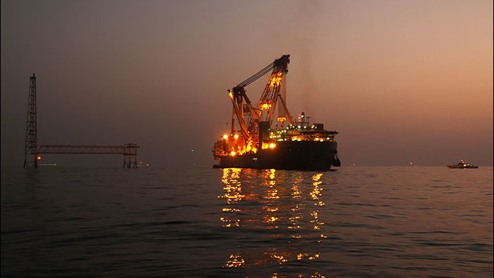 Phase 21 of the South Pars gas field in the Persian Gulf