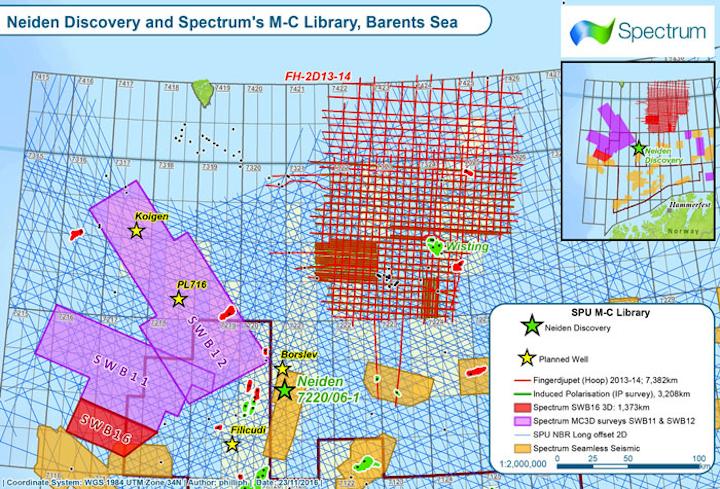 Southwest Barents Sea project