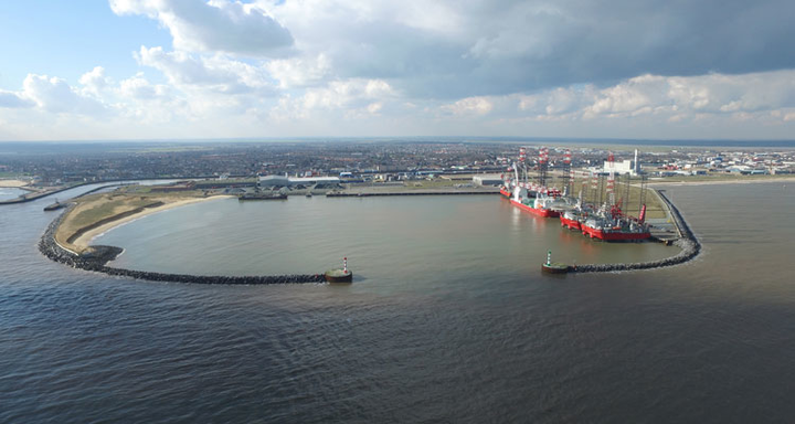Veolia/Peterson partnership's decommissioning site in Great Yarmouth, England
