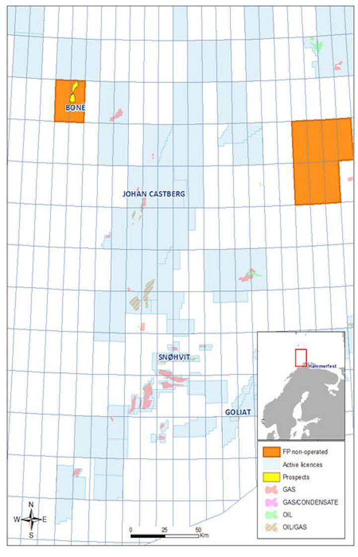 Boné (ex-Dazzler) exploration well in the Norwegian Barents Sea
