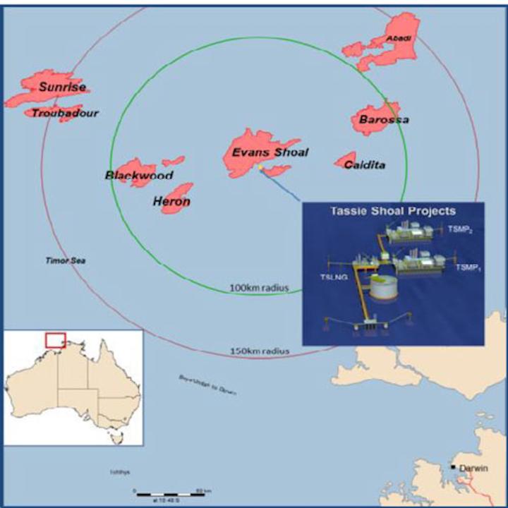 Offshore northwest Australia