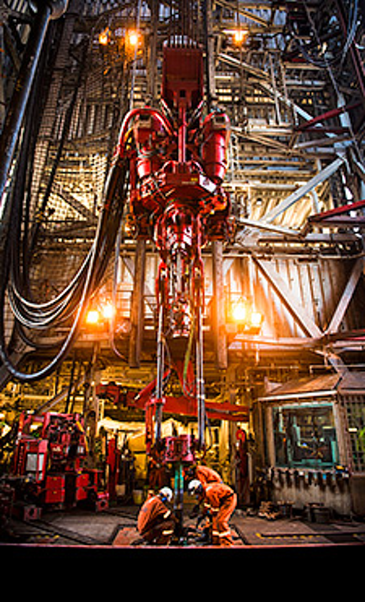 West Hercules drilling rig