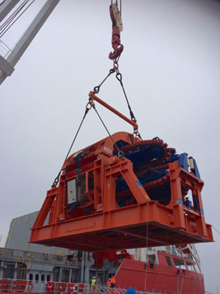 MDL four-track pipelay tensioner