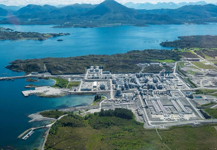 Nyhamna gas plant