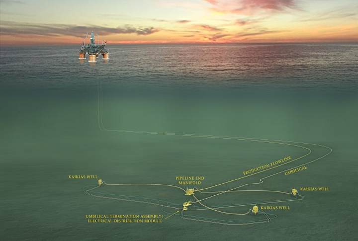 Deepwater Kaikias project in the US Gulf of Mexico
