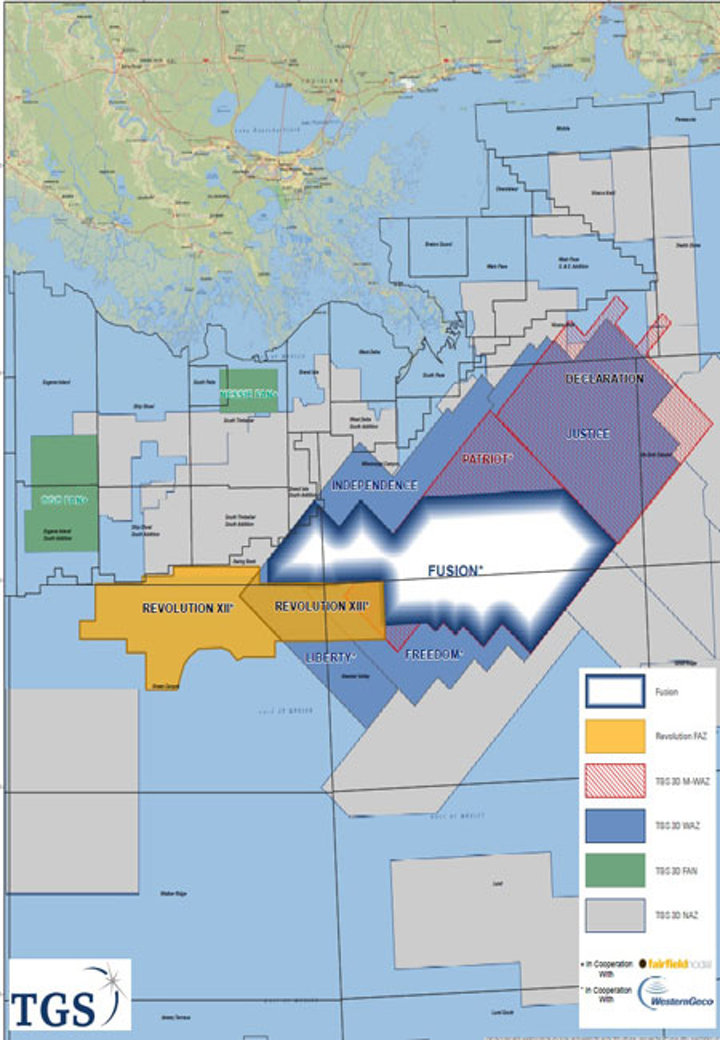 Fusion multi- and wide-azimuth multi-client reimaging program in the US Gulf of Mexico
