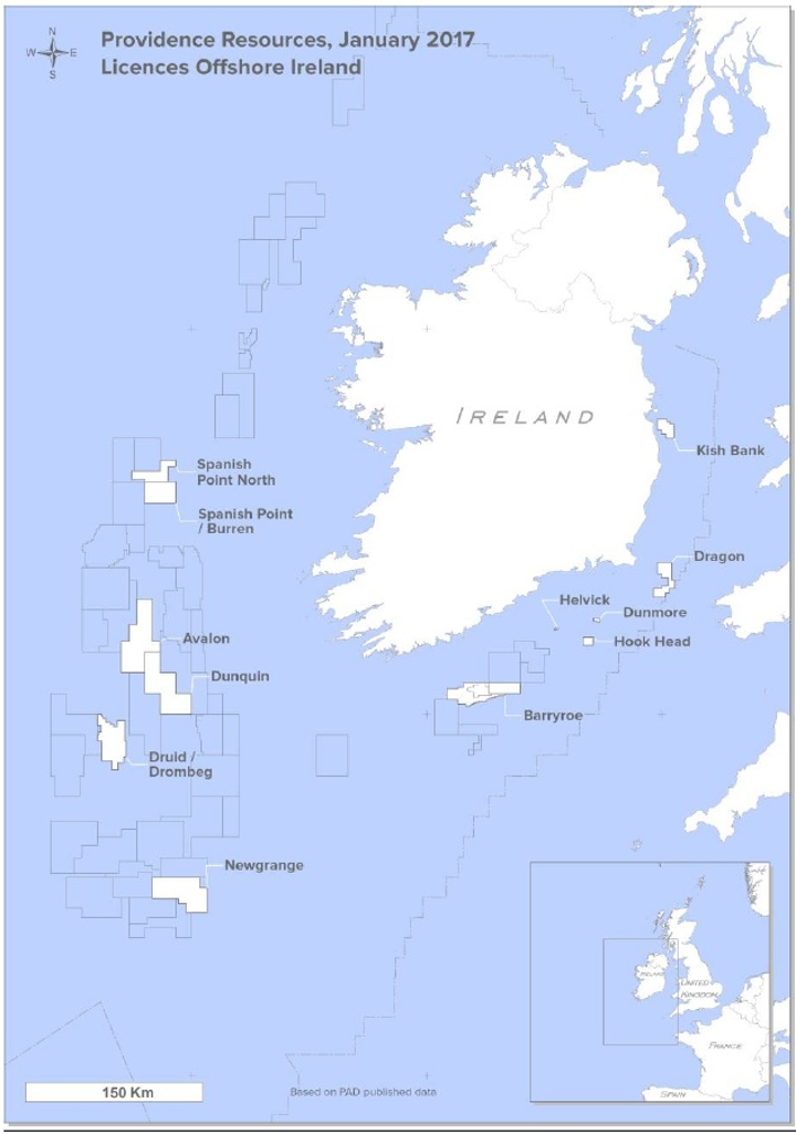 Providence Resources offshore Ireland