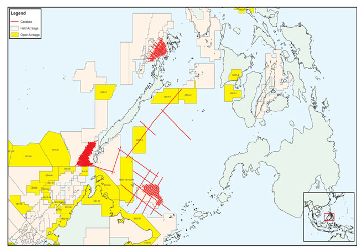 Carabao multi-client survey offshore the Philippines