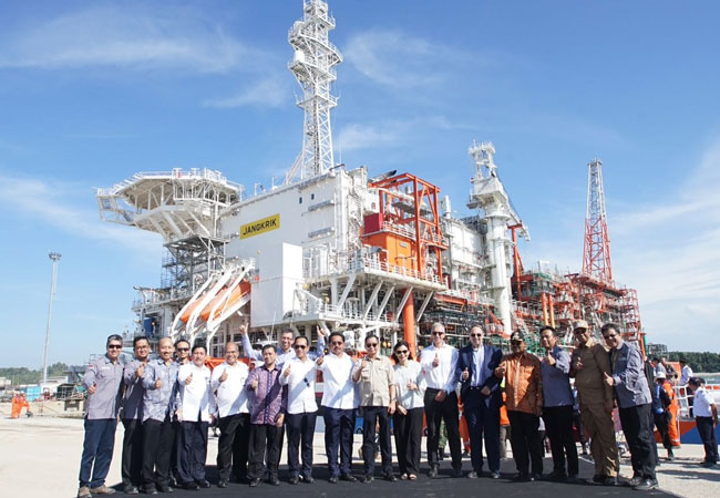 Eni's Jangkrik floating production unit