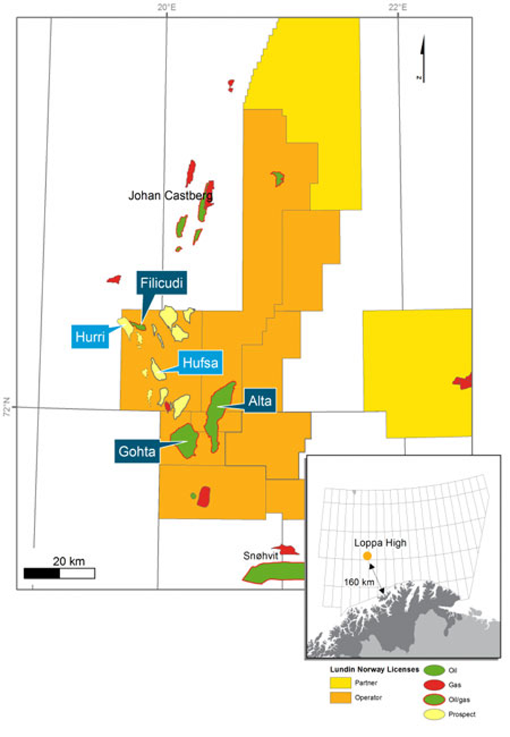Lundin Norway offshore discoveries