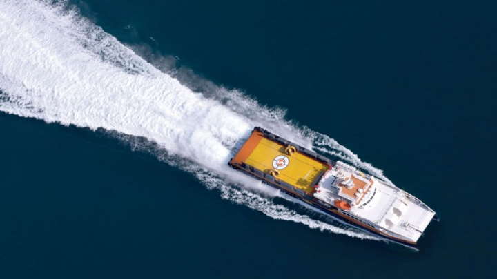 The fast crew supply vessel Alya McCall