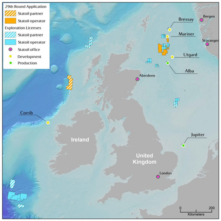 The UK's 29th offshore licensing round
