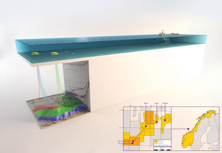 Pil & Bue development offshore Norway