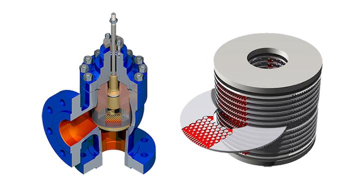 Blakeborough X-Stream Control valve trim