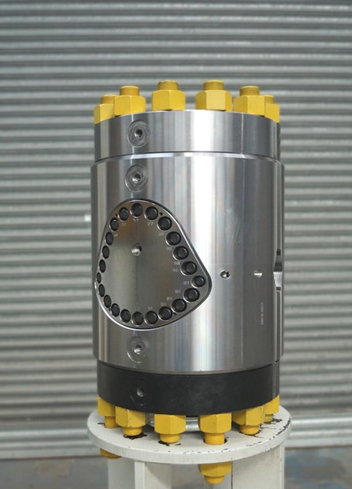 Interventek's 20,000-psi in-riser Revolution valve