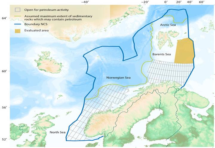 Norwegian continental shelf
