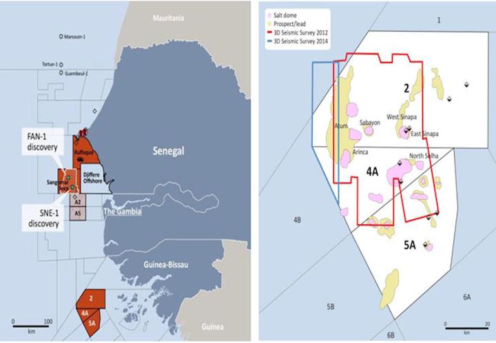 Offshore Senegal and Guinea-Bissau licenses