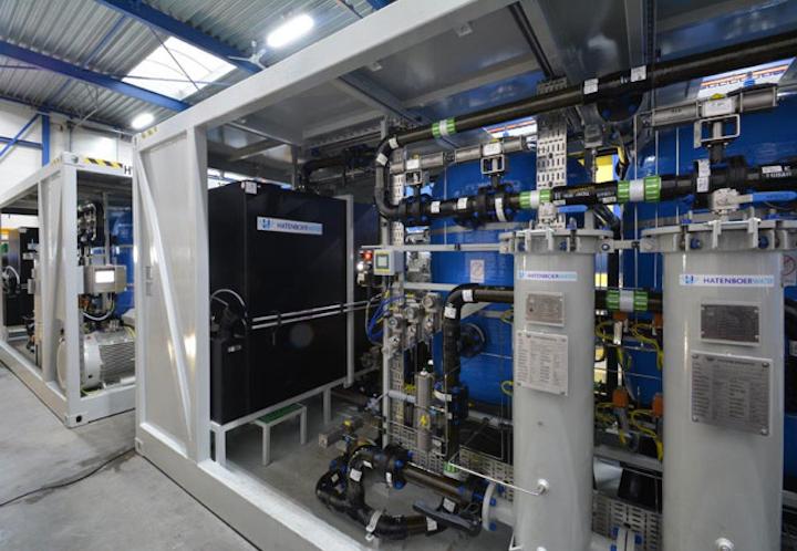 Fresh water generator from Hatenboer-Water