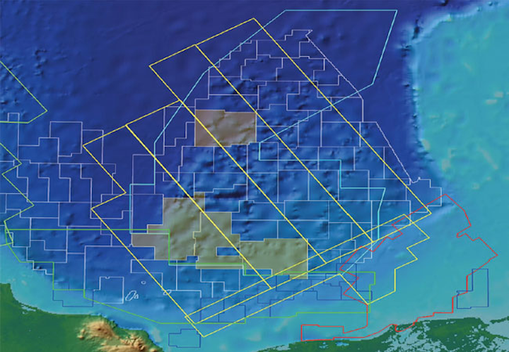 WesternGeco Campeche multi-client seismic survey in the southern Gulf of Mexico