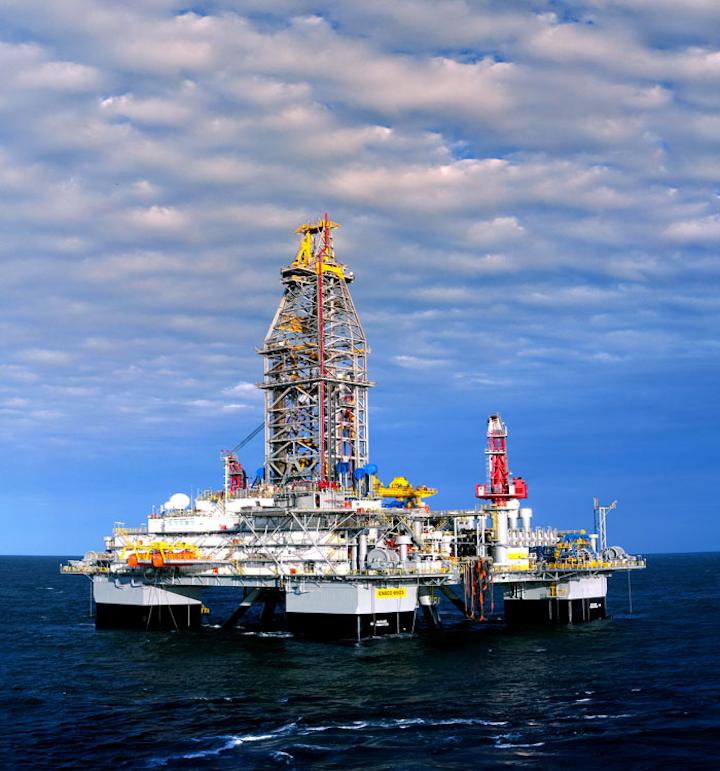 ENSCO 8503 semisubmersible drilling rig