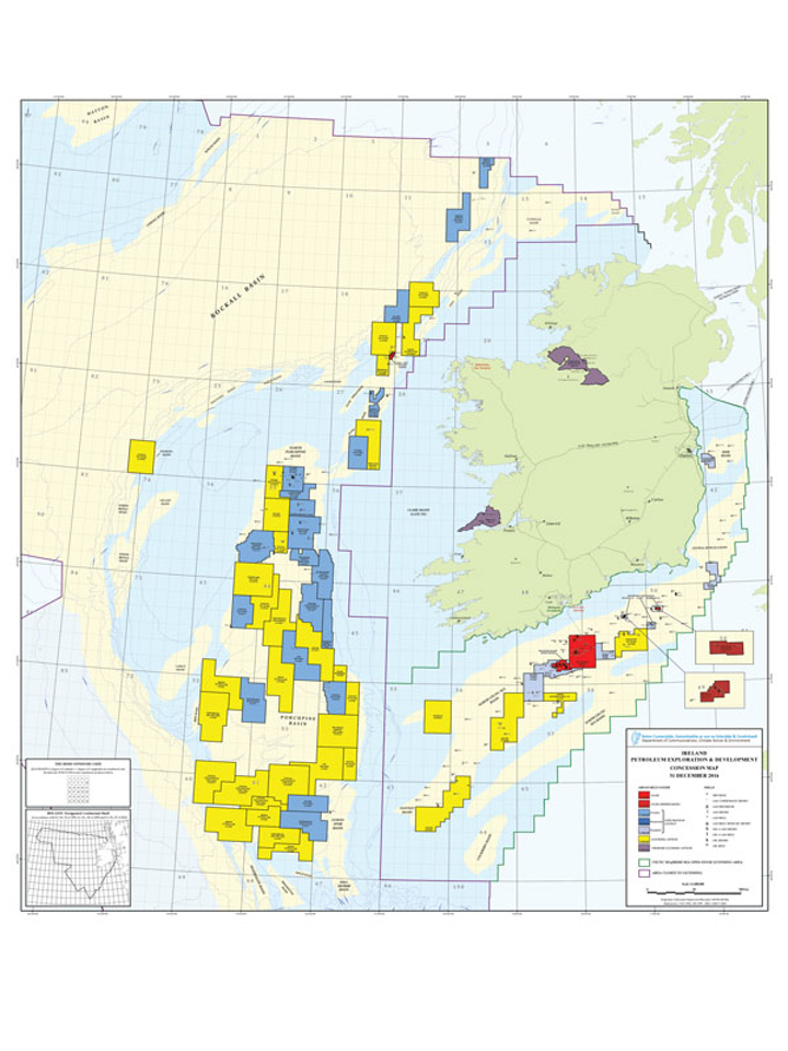 Offshore western Ireland