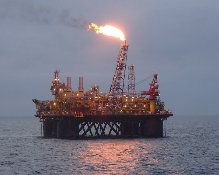 FPF-1 semisubmersible production platform for the Greater Stella Area project in the UK North Sea