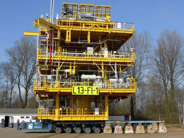 L13-F1-1 monotower platform