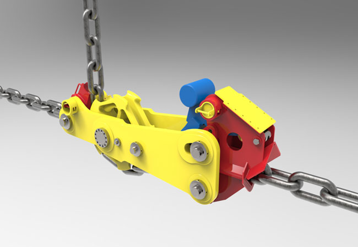 subsea tensioned mooring system