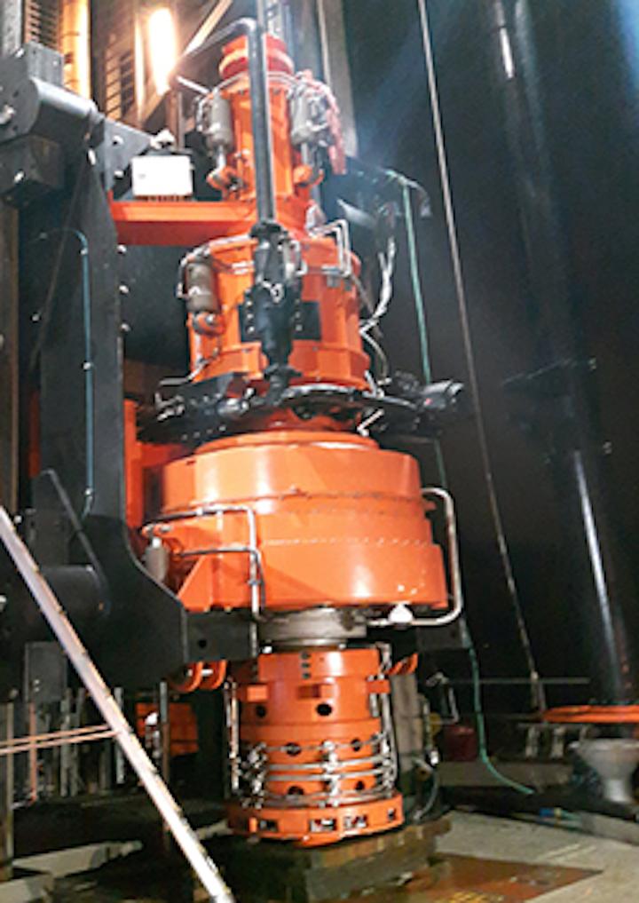 Continuous drilling and circulation unit