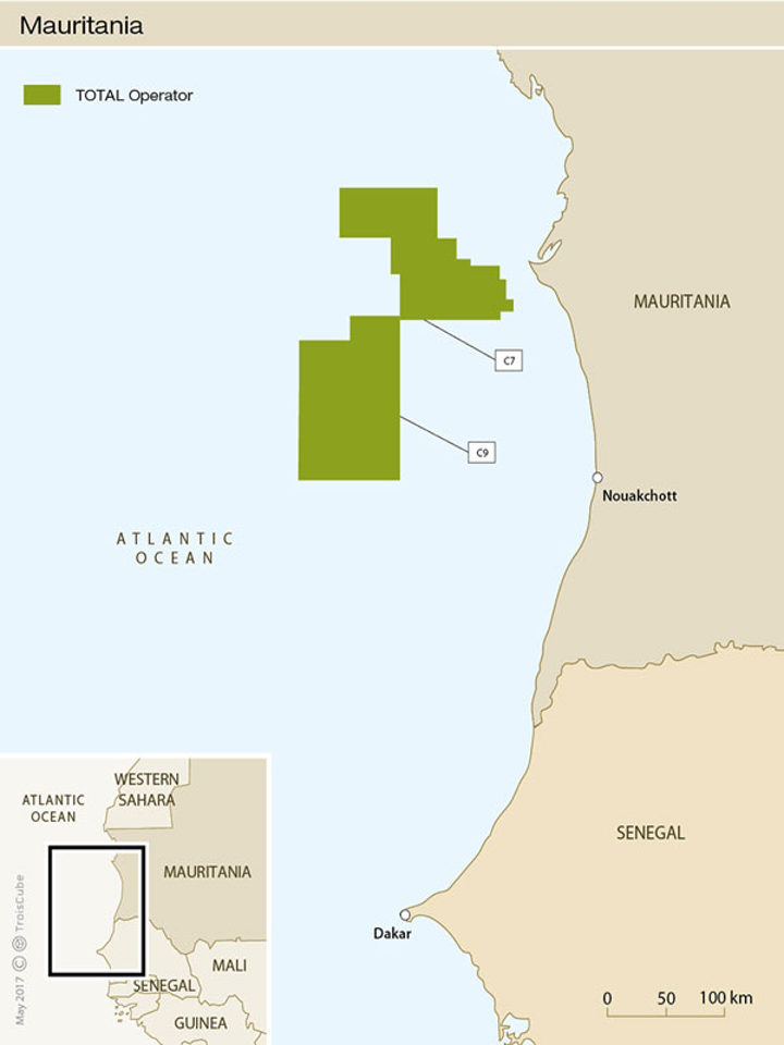 Total offshore Mauritania