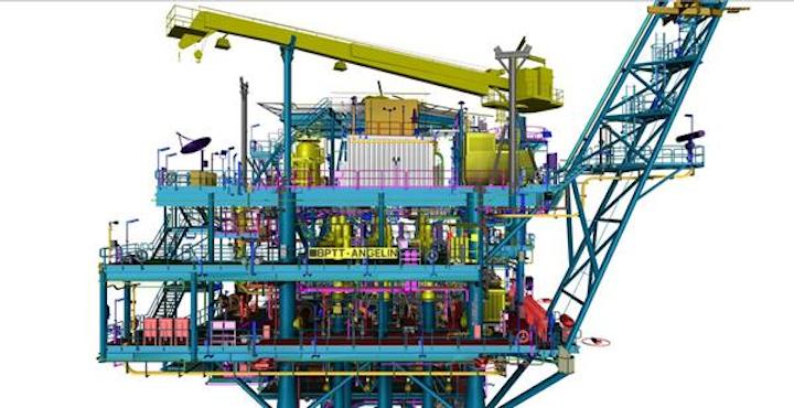 Angelin gas field development topsides