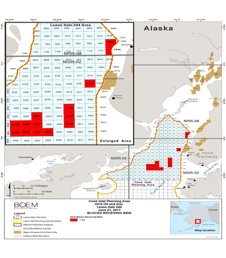 Cook Inlet Lease Sale 244