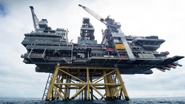 Gina Krog production platform offshore Norway