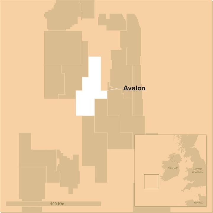 Avalon prospect offshore western Ireland