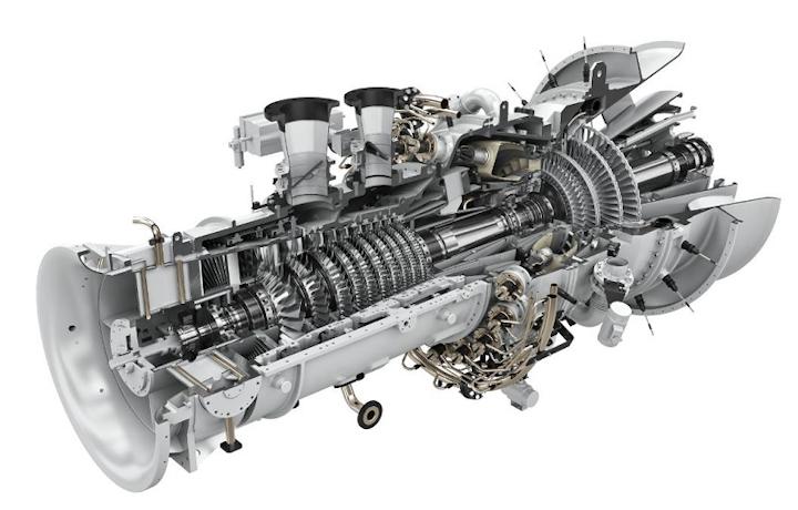 Industrial gas turbine SGT-600