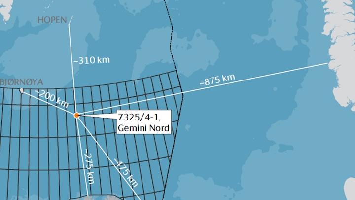 Gemini Nord prospect in the Barents Sea