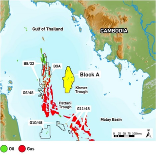 KrisEnergy sanctions first oil project offshore Cambodia
