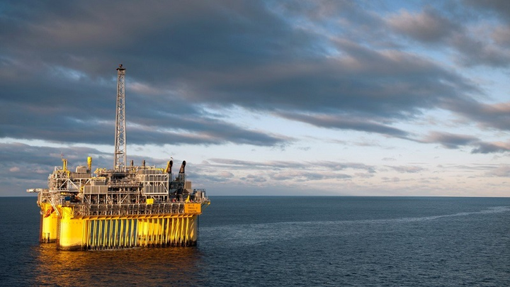 The Troll C platform in the North Sea