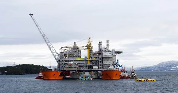 Statoil's Aasta Hansteen spar platform